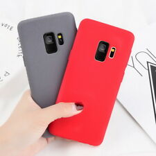 Luxury Matte Soft TPU Silicon Slim Phone Case Cover For Samsung Galaxy Phones
