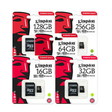 8GB 16GB 32GB 64GB Kingston 80MB/S Micro Sd SDHC Uhs-I Class10 Tf Scheda di