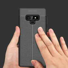 Luxury Litchi Carbon Fiber Pattern Soft Silicon TPU Phone Case Cover For Samsung