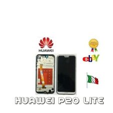 LCD DISPLAY Huawei P20 Lite TOUCH SCREEN FRAME SCHERMO NERO BIANCO