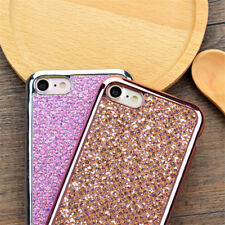 Plating Bling Glitter Sparkle Soft TPU Phone Case Cover For iPhone X 8 7 6 5
