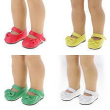 18inch Dolls Flat Sneakers Shoes for American Girl Our Generation Clothes Accs