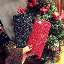 Sparkle Bling Glitter Crystal Diamond Hard Phone Case Cover For iPhone X 8 7 6 5