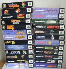 Nintendo 64 N64 games - boxed and complete