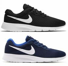 NIKE TANJUN men's shoes sneakers running gym canvas casual blue Casual fit