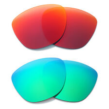 Polarized Mirrored Oakley Frogskins Sunglasses Replacement Lenses Anti Sand UK