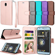 For Samsung Galaxy J7 V 2nd Gen/Eon/Star/Refine/Top/Crown/Aura/Aero Wallet Case