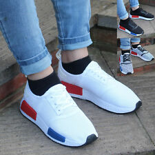 Mens Boys Running Trainers Fitness Gym Sports Comfy Lace Up Shoes Sizes 3-12
