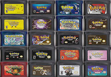 Juegos Pokemon GBA Game Boy Advance: Advanced Adventure, Dark Cry, Glazed