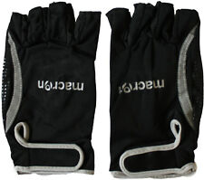 MACRON Catch black/silver grip mitt gloves guanti puntinati nero/argento