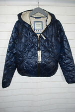 Abercrombie & Fitch Ladies Navy Light Puffer Jacket