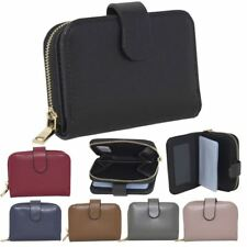 New Synthetic Leather Zipped Compartment Card Slots Women's Purse