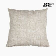 Cuscino Cotone e poliestere (45 x 10 x 45 cm) by Loom In Bloom Loom in Bloom
