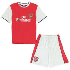 Ragazzi Arsenal Squadra di Calcio Kit Set Pigiama 100% Cotton Gunners 3-13 Years