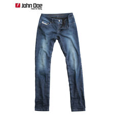 John Doe Betty High Vaqueros de Mujer Slim Cortar con Dupont Kevlar Fibra -