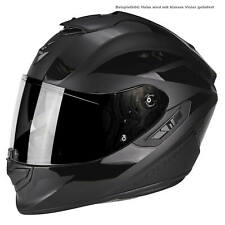 Scorpion Exo-1400 Air Freeway II Moto Casco Integrale Touring - OPACO Nero Gl