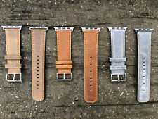 Apple Watch Replacement Leather Watch Strap Wrist Band for Series 1 2 3 38/42mm