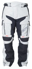 RST Adventure 3 III Textile Motorcycle Riding Jeans - CE APPROVED - Silver