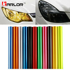 Auto Car Tint Headlight Taillight Fog Light Vinyl Smoke Film Sheet Sticker Cover