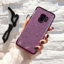 For Samsung Galaxy S9 S8 Plus S7 S6Edge Note 9 Soft Bling Glitter TPU Cover Case