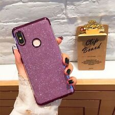 For Xiaomi Redmi 6 Note 4/Redmi 4X Note 5 Silicone Glitter Back Phone Cover Case