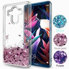 Dynamic Glitter Liquid Quicksand Lovely Heart Soft Phone Case Cover For Huawei