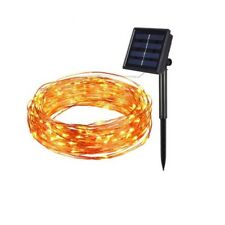100 LED Solar Copper Wire Fairy String Lights