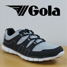 Gola Men's Trainers Termas Running Shoes Silver Light Weight Sneakers CLEARANCE
