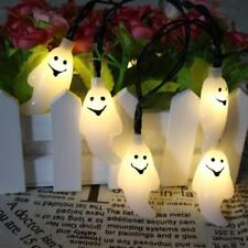 1.5M 10 LED Ghost String Lights Lamp for Halloween Indoor Outdoor Party Supplies