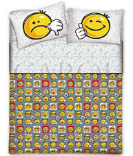 COMPLETO LENZUOLA SMILE FACCINE-100% COTONE MADE IN ITALY