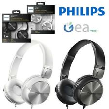 PHILIPS Auriculares Dj Diseño Originales Negro Cable 1.2mt Jack 3.5mm 32mm