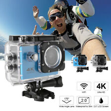 Ultra HD 16MP 4K WIFI Sports Action Camera with Remote Control Accessories Kits