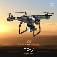 RC Drone 640P HD Camera RTF Headless APP Wifi FPV 2.4G Remote Control Quadcopter