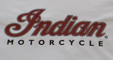 T-SHIRT CAMISETA VALUEWEIGHT BLANCA INDIAN MOTORCYCLE FRUIT OF THE LOOM.