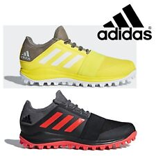 low priced 459b2 875bc adidas Divox 1.9S Mens  Boys Field Hockey Shoes Black Yellow Sports  Trainers