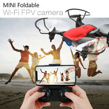GW10 Wifi FPV 2MP Selfie RC Quadcopter Mini Foldable Drone w/ HD Camera Headless