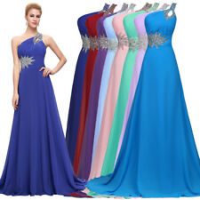 New Evening Dress Grace Prom Size Cocktail Party Wedding Long Bridesmaid Gown