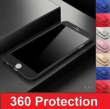 Hybrid 360 Case Cover Luxury Ultra Thin Shockproof For Apple iPhone X 8 7 6 Plus