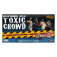 Guillotine Games Zombicide Expansion Box Zombies - Set #2 Toxic Crowd