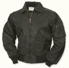 BLACK FLIGHT JACKET MA2 water repellent AIR FORCE ideal for cold weather bee40aa381