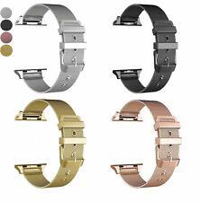 For Apple Watch 4 3 38/40/42/44MM Milanese Loop Stainless Steel Watch Band Strap