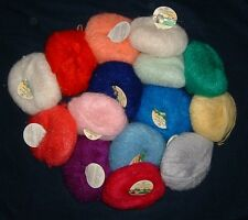 GOMITOLI LANA MOHAIR FANTASIA VARIE MARCHE WOOL COLORE A SCELTA