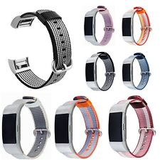 Nylon Fabric Wristwatch Fitness Band Strap Bracelet For Fitbit Charge 2 Tracker