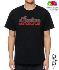 T-SHIRT CAMISETA VALUEWEIGHT  INDIAN MOTORCYCLE N10  FRUIT OF THE LOOM.