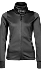 Bench Sportivo Dreamer Tricot Softshell Giacca in Pile Donna Nero Nuovo