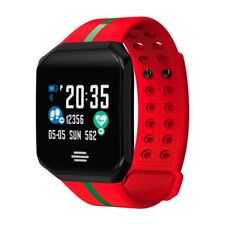 Smart Wristwatch Blood Pressure Heart Rate Monitor for Android IOS Bracelet