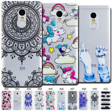 For Xiaomi Protective Gel TPU Clear Silicone Soft Skin Case Cover Rubber Back