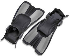 EFFEA black/grey swimming fins pool pinne corte nuoto piscina nero/grigio