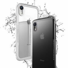 Luxury 0.7mm Armor Tempered Glass 3IN1 Slim Phone Case For iPhone XS XR MAX X 8