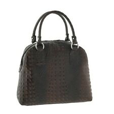 Emilio Masi borsa donna in pelle con manico e tracolla italian leather woman bag
